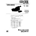 Sony CCD-F335E (serv.man7) Service Manual