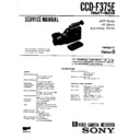 Sony Ccd F375e Service Manual Free Download