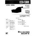Sony CCD-F380E (serv.man2) Service Manual