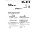 Sony CCD-F380E (serv.man3) Service Manual