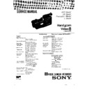 Sony CCD-F500E (serv.man2) Service Manual