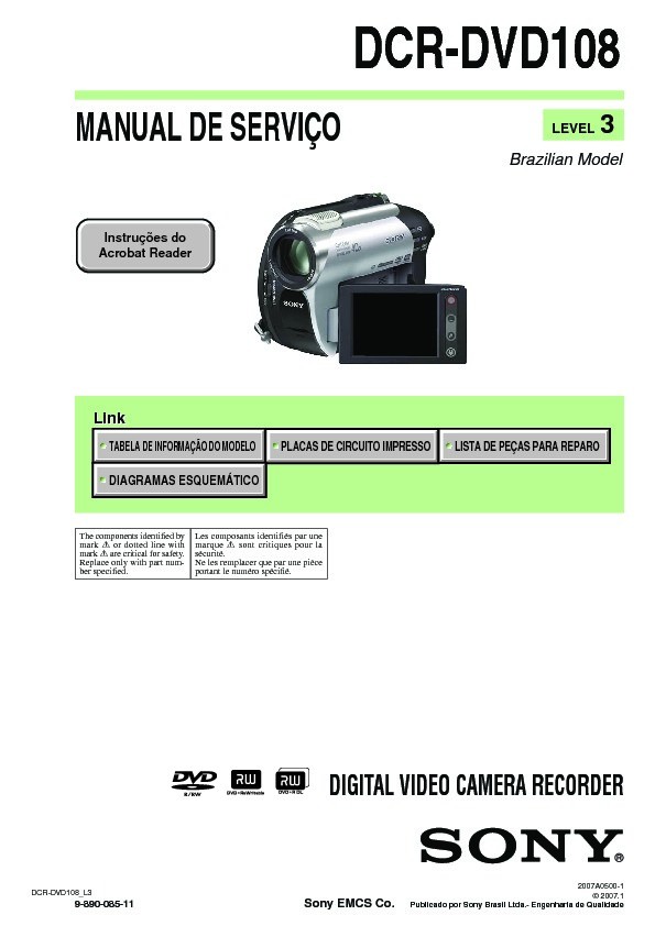 sony dcr dvd108 service manual free download rh servicemanuals us sony handycam dcr-dvd108 manual español sony handycam dcr-dvd108 manual