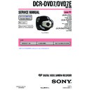 Sony DCR-DVD7, DCR-DVD7E (serv.man3) Service Manual
