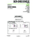 Sony DCR-DVD7, DCR-DVD7E (serv.man6) Service Manual