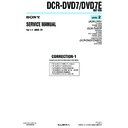 Sony DCR-DVD7, DCR-DVD7E (serv.man8) Service Manual