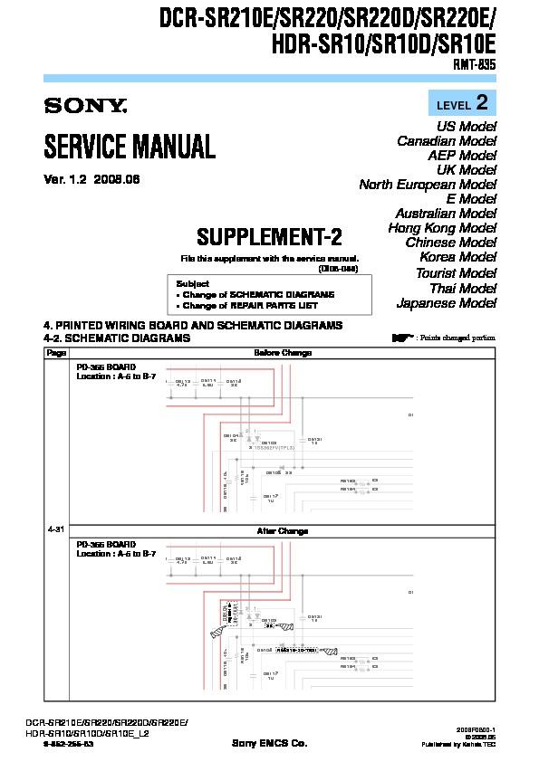 sony dcr sr210e dcr sr220 dcr sr220d dcr sr220e hdr sr10 hdr rh servicemanuals us sony handycam dcr-sr220 manual sony dcr-sr220 software download