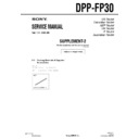 Sony DPP-FP30 (serv.man3) Service Manual