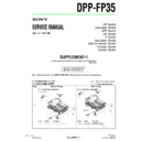 Sony DPP-FP35 (serv.man3) Service Manual