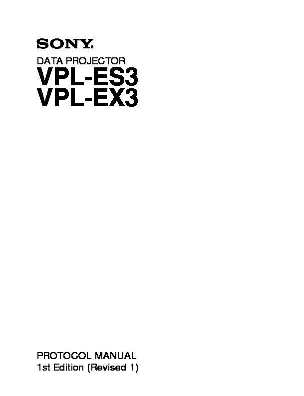 sony vpl es3 vpl ex3 service manual free download rh servicemanuals us sony xga vpl-ex3 manual sony xga vpl-ex3 manual