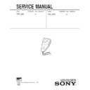 Sony FDL-22N Service Manual