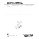 Sony FDL-250T Service Manual