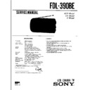 Sony FDL-390BE Service Manual