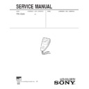 Sony FDL-E22U (serv.man2) Service Manual