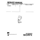 Sony FDL-E22U Service Manual