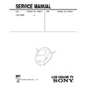 Sony FDL-PT222 Service Manual