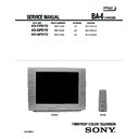 Sony KD-27FS170 Service Manual