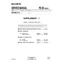 Sony KD-28DL11U (serv.man2) Service Manual