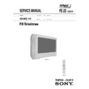 Sony KD-28DL11U Service Manual