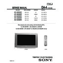 Sony KD-30XS955 (serv.man2) Service Manual