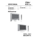 Sony KD-32DX100U Service Manual
