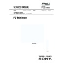 Sony KD-32DX40AS Service Manual
