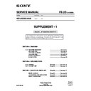 Sony KD-32DX51AUS (serv.man2) Service Manual