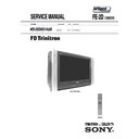 Sony KD-32DX51AUS Service Manual