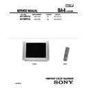 Sony KD-32FS130 Service Manual
