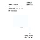 Sony KD-32NX100AEP Service Manual