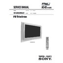 Sony KD-32NX200AUS Service Manual