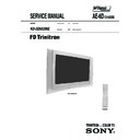 Sony KD-32NX200E Service Manual