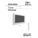 Sony KD-32NX200U Service Manual