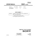Sony KD-34XBR2 (serv.man2) Service Manual