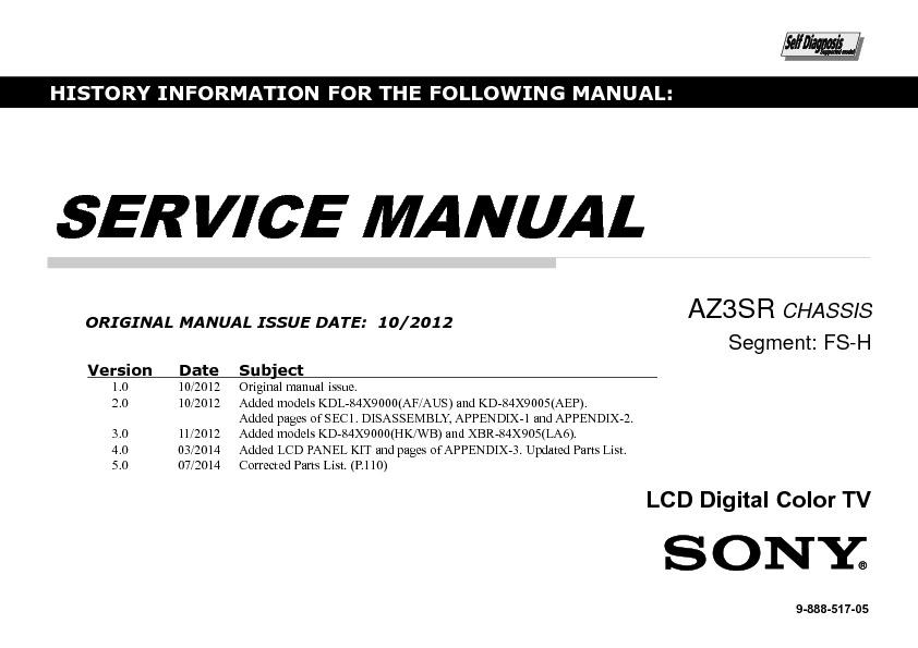 China color Tv service manual