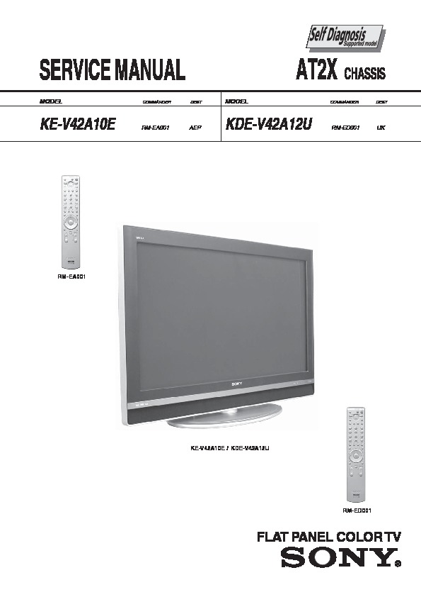sony tv service manuals page 6 rh servicemanuals us sony wega tv kdf-50we655 manual sony kdf 50we655 troubleshooting