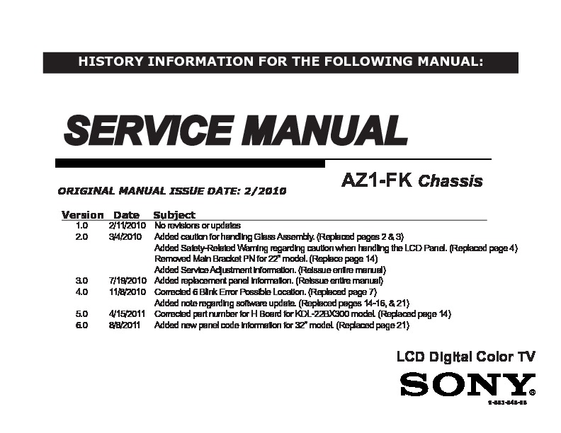 sony kdl 32bx300 kdl 40bx400 service manual free download rh servicemanuals us sony bravia kdl-32bx300 manual español sony bravia kdl-32bx300 manual español