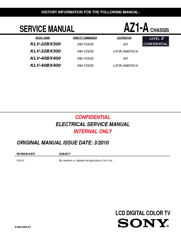 sony kdl 32bx300 kdl 40bx400 service manual free download rh servicemanuals us manual tv sony bravia kdl-32bx300 sony bravia kdl-32bx300 service manual
