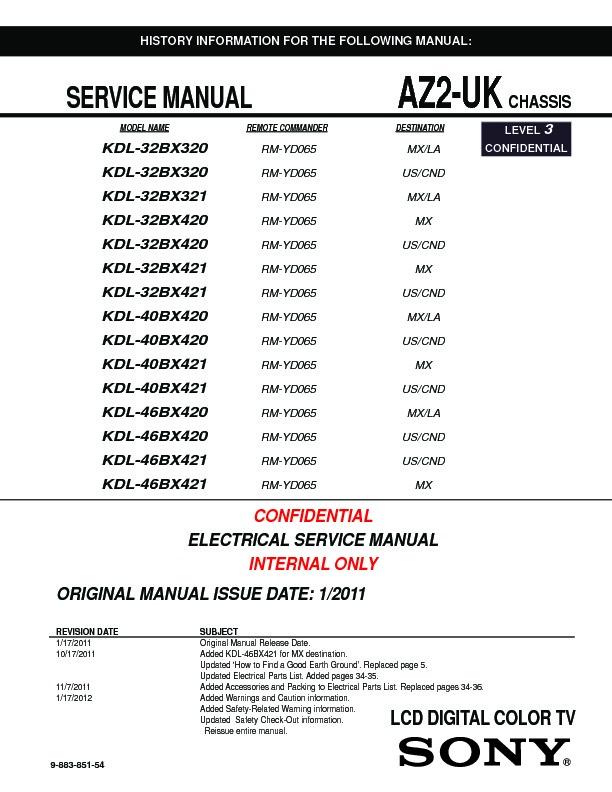 sony kdl 32bx320 service manual free download rh servicemanuals us