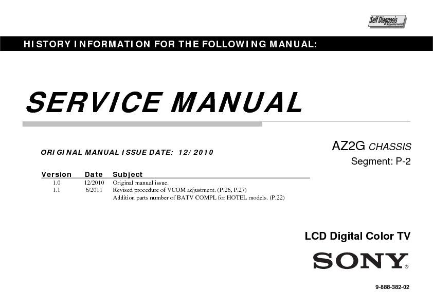 sony kdl 32cx520 kdl 40cx520 kdl 46cx520 service manual free rh servicemanuals us