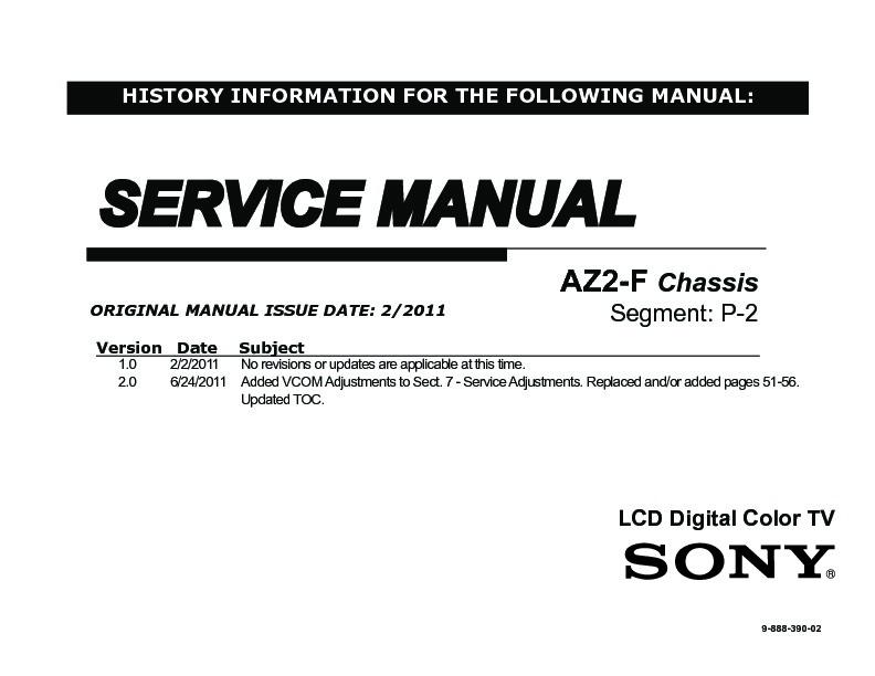 sony kdl 32cx520 kdl 40cx520 service manual free download rh servicemanuals us