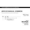 Sony Tv Servicing Manual