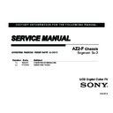 Sony KDL-40EX725 Service Manual
