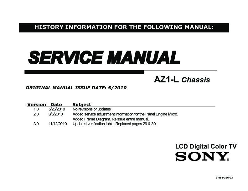 sony kdl 40hx800 kdl 46hx800 kdl 55hx800 service manual free rh servicemanuals us Sony 55 4K TV Sony BRAVIA 55 KDL-55HX800