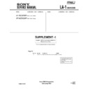 Sony KF-50DX200K, KF-60DX200K (serv.man2) Service Manual