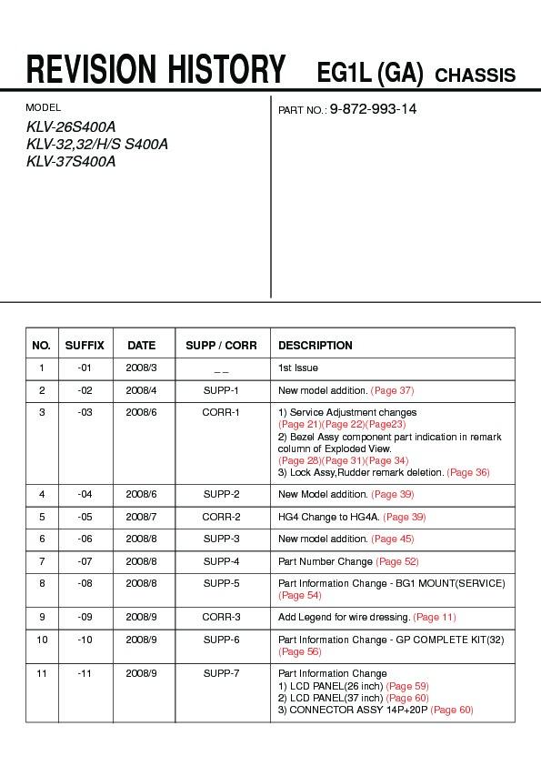 sony klv 26s400a klv 32s400a klv 37s400a service manual free rh servicemanuals us Sony M 80 Manual Sony M 80 Manual