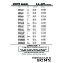 Sony KV-32FS10 (serv.man9) Service Manual