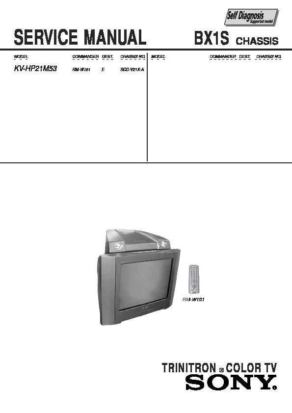 Sony crt Tv service manual pdf Videocon