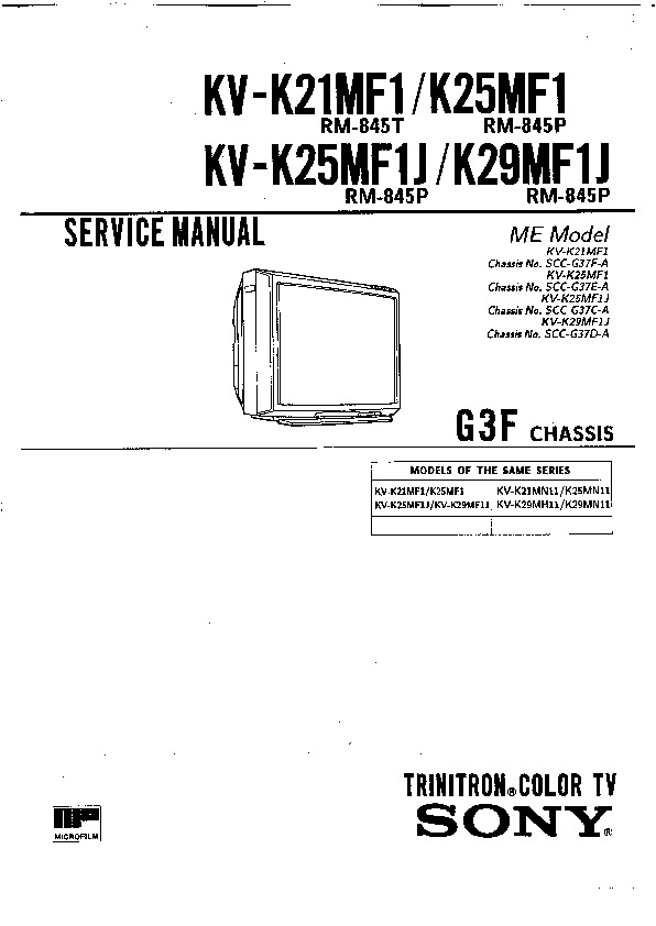 sony kv k21mf1 service manual free download rh servicemanuals us