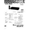 Sony EV-S1000E (serv.man2) Service Manual