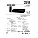 Sony EV-S550E (serv.man2) Service Manual